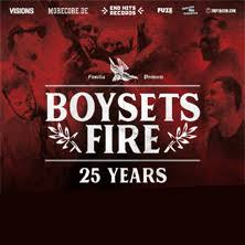 4.12 – Boysetsfire & Special guests @ Arena Wien