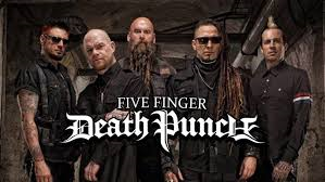 19.2.20 - Five Finger Death Punch (Front of Stage) @ Stadthalle Wien