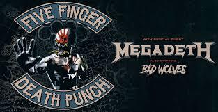 19.2.20 – Five Finger Death Punch (BLOCK 64 !) @ Stadthalle Wien